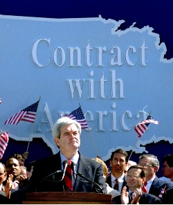 Gingrich and Contract with America
