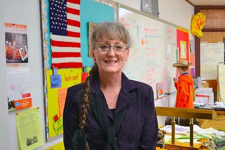 Halfway teacher Dollie Beck
