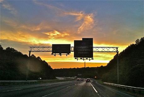 I-20 near Birmingham