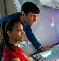 Star Trek-Spock and Uhura