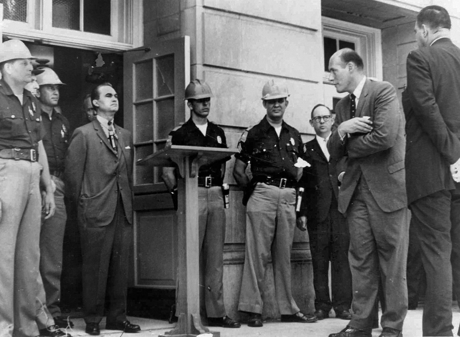 George Wallace at University of Alabama