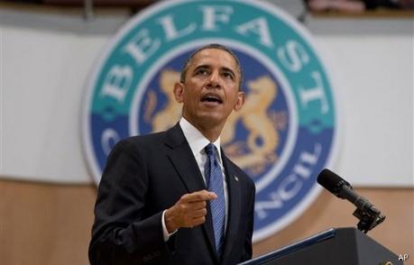 Obama-Belfast