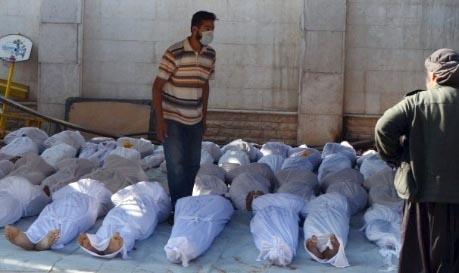 Dead bodies-Syria