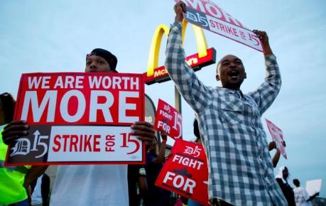 McDonald's-strike