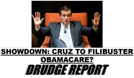 Cruz to filibuster ObamaCare