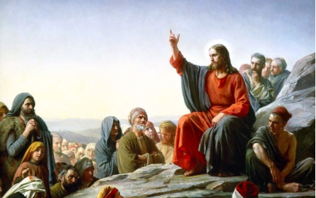 Jesus-Sermon on the mount