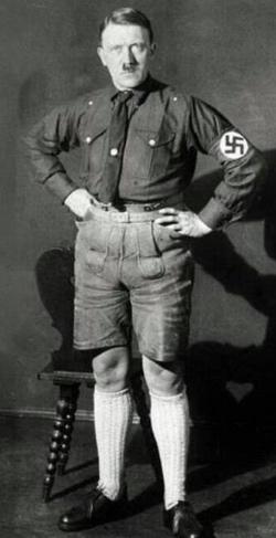 Adolph Hitler in 1923